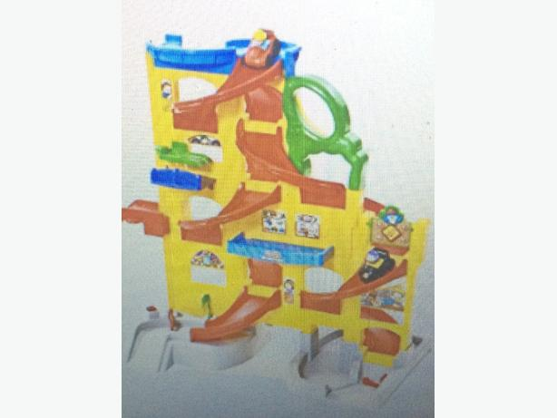 Little People Wheelies Stand n Play Rampway
