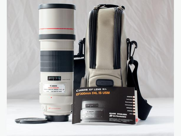 Canon EF 300mm f/4 Telephoto lens