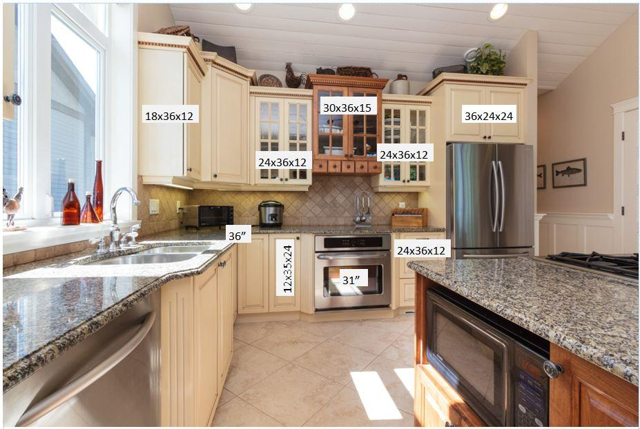 All kitchen cabinets w wall oven gas cooktop saanich for Kitchen cabinets york region