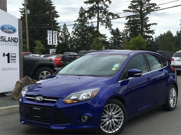 2014 Ford Focus Titanium, Leather, Navigation