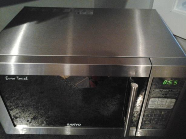 Euro Touch Sanyo Microwave