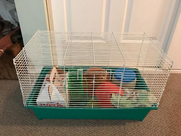 Hamster cage set  25$ sold