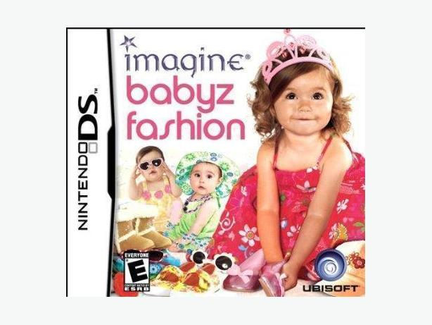 IMAGINE BABYZ FASHION NINTENDO DS GAME IN ORIGINAL CASE