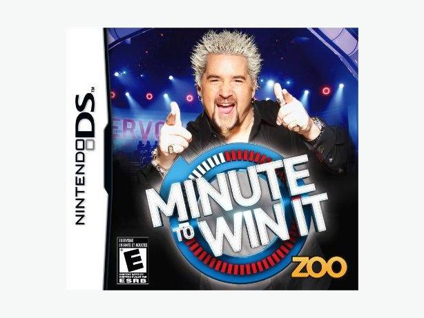 MINUTE TO WIN IT NINTENDO DS GAME IN ORIGINAL CASE