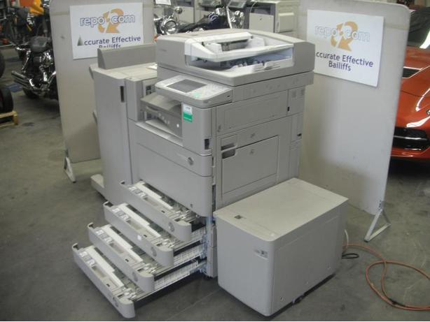 Canon C5045 Image Runner Colour Photocopier Printer With Sorter And Paper Tray
