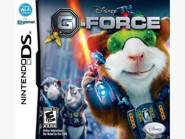 DISNEY G-FORCE NINTENDO DS GAME IN ORIGINAL CASE