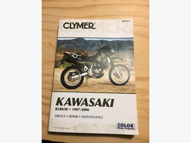 650 KLR service manual for 2007 and older