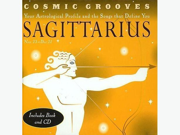SAGITTARIUS - YOUR ASTROLOGICAL PROFILE BOOK AND CD - NEW