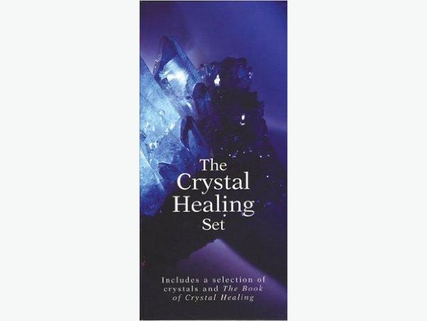 THE CRYSTAL HEALING SET - NEW