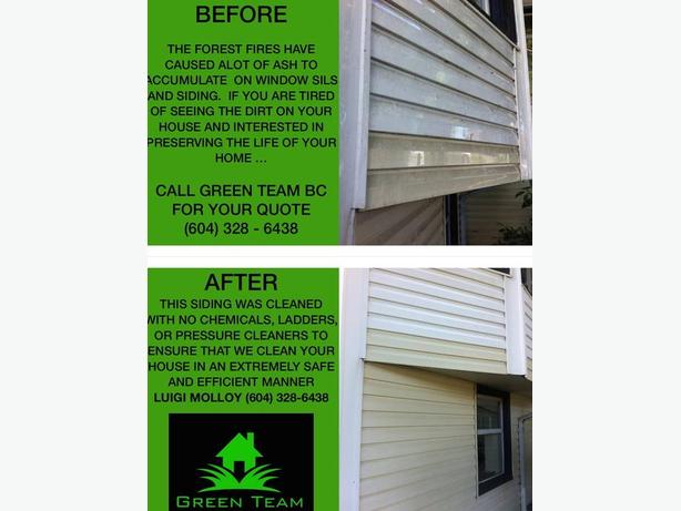 Window, Siding & Gutter Cleaning (No Chemicals Or Ladders)