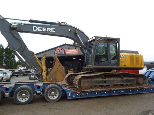 John Deere 270D LC Excavator