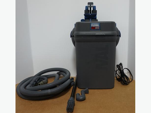 "Hagen ""Fluval 304"" Canister Filter 260 GPH – Good Condition"