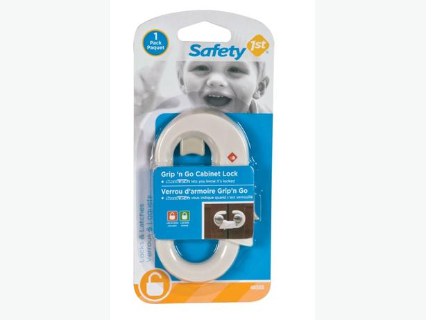 3 SAFETY 1st GRIP'N GO CABINET LOCK - NEW