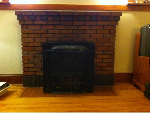 Antique Fireplace Insert for sale
