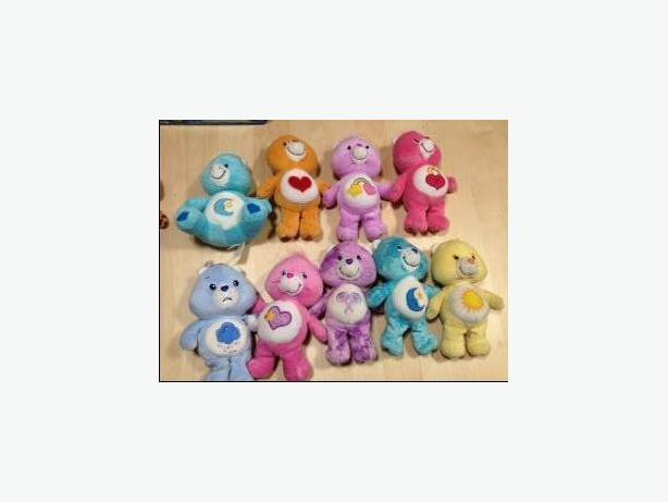 "CARE BEARS - 8"" CLASSIC COLLECTION - LIKE NEW"