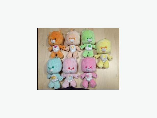 "CARE BEARS - 8"" COUSINS COLLECTION - LIKE NEW"