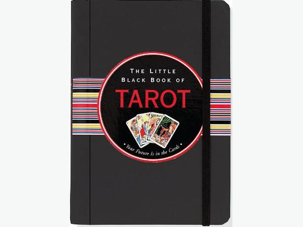 THE LITTLE BLACK BOOK OF TAROT - NEW