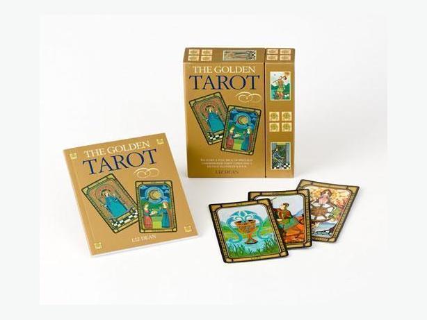THE GOLDEN TAROT SET- NEW