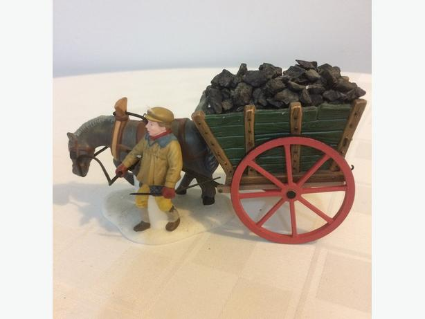 Dept 56 Coal Monger with Horse and Cart (Christmas)