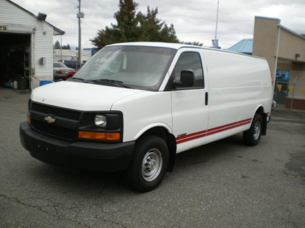 2006 Chevrolet Express 2500 Cargo, Extended,
