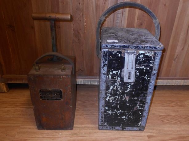 Antique Blasting Equipment