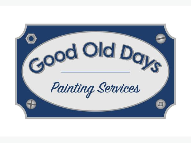 Good Old Days Painting Services... Here to Help!