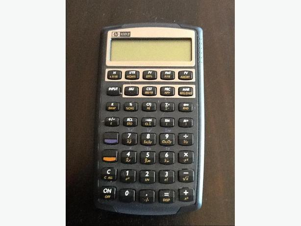 HP10BII Financial Calculator