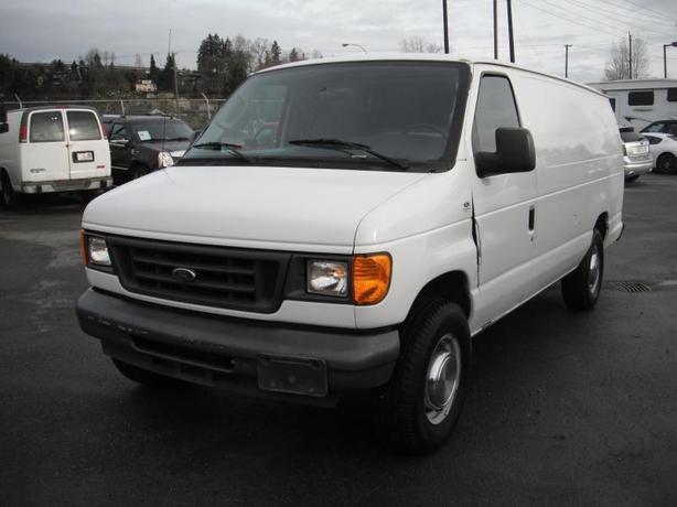 2005 Ford Econoline E-350 SD Extended Diesel Cargo Van