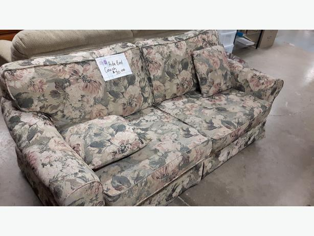 Hide A Bed Couch For Sale At St Vincent De Paul On Kirkpatrick Saanich Victoria