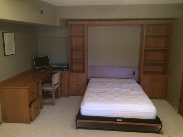 Murphy Beds Gatineau : Murphy bed w desk and storage central saanich victoria