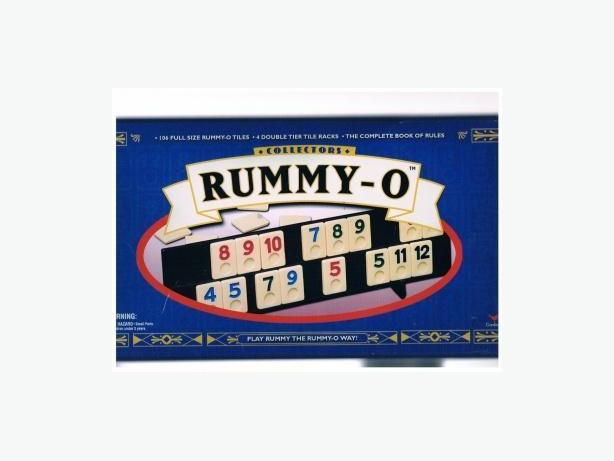 COLLECTOR'S RUMMY-O TILE GAME - NEW