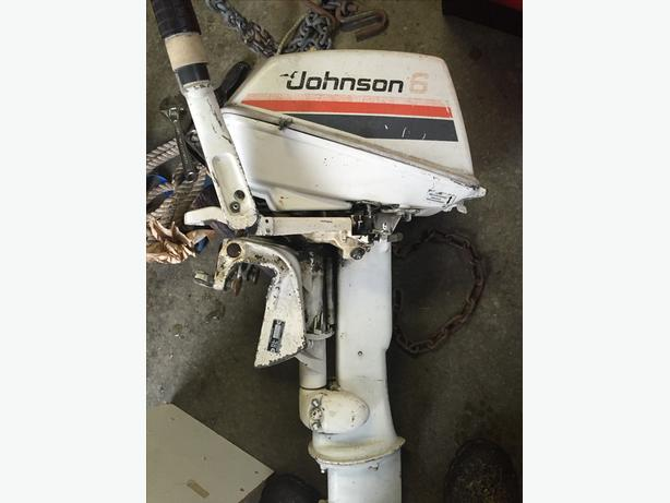 Johnson 6hp Longshaft