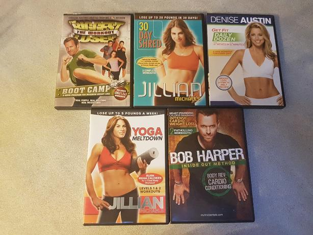 5 workout dvds