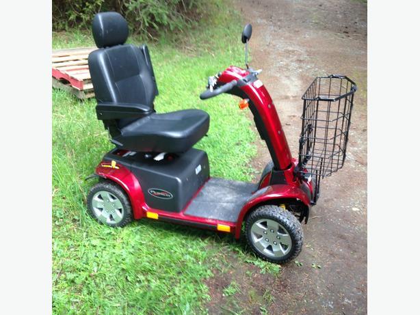 pride pursuit scooter