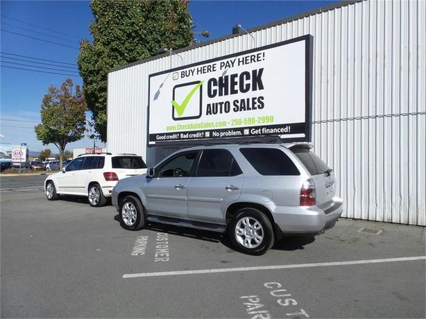 2006 Acura MDX Touring with Rear DVD System