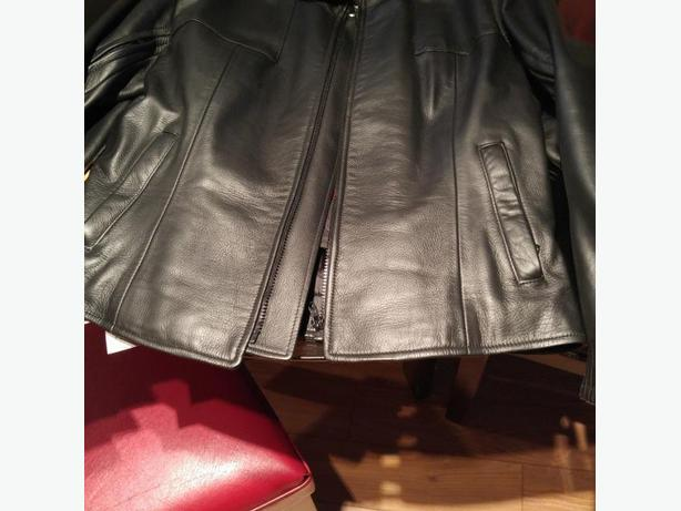 Bristol Leather Motorcycle Coat