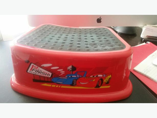 Lightning McQueen Step Stool
