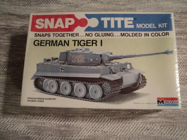1974 Sealed German Tiger Tank