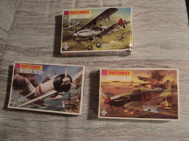 Sealed 1/72 Scale Matchbox Planes (ON HOLD)