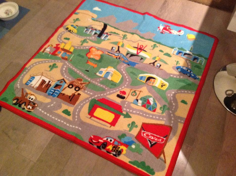 Disney Cars Shelf Stuffed Toys Area Rug And Storage Box