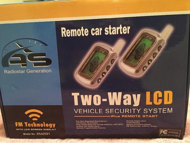 Remote car starter $50.00