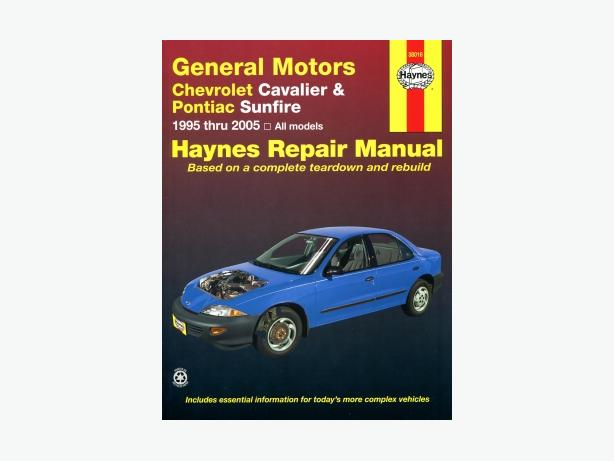 haynes repair manual for chevrolet cavalier or pontiac 2003 Chevy Cavalier 2000 Chevy Cavalier