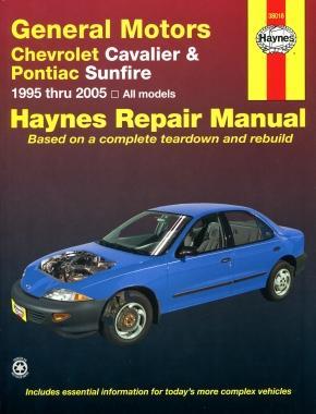 haynes repair manual for chevrolet cavalier or pontiac sunfire west carleton  ottawa Haynes Repair Manual Online View Haynes Repair Manuals Online