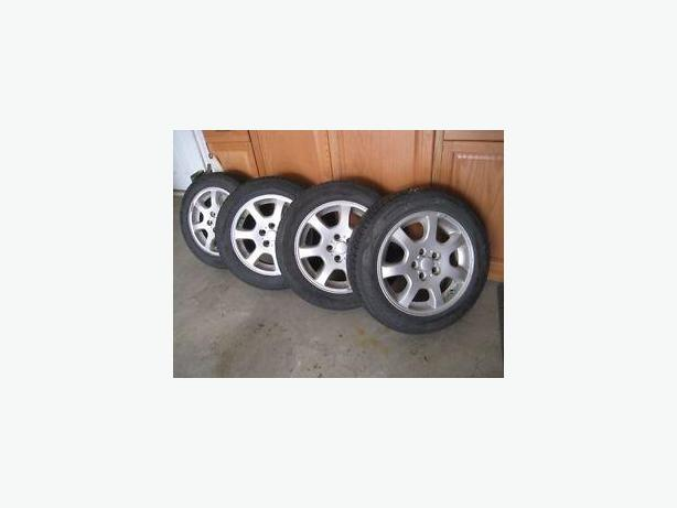 Complete M+S Rims and Tire package 5x100