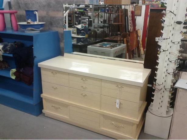 Long Dresser with Mirror (Reduced $98.00)