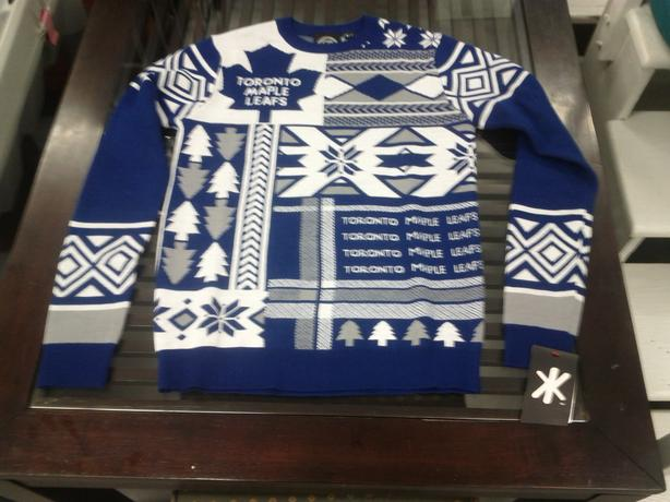 New NHL Tacky Christmas Sweaters