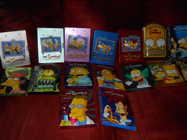 Simpsons and Family Guy DVD's