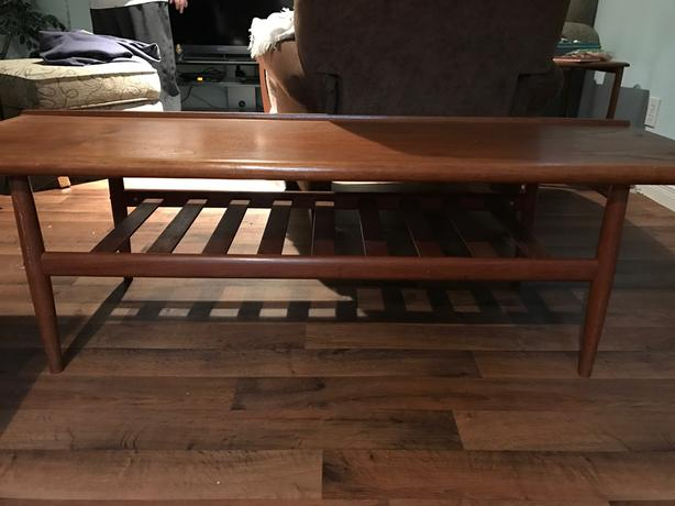 Solid Teak Wood Coffee Table Orleans Ottawa