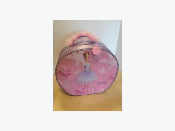 BARBIE ROUND BOX CARRYING CASE BAG