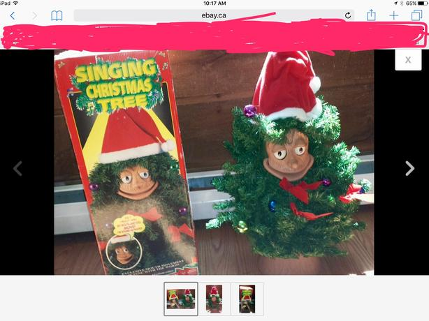 WANTED: Everett singing Christmas tree